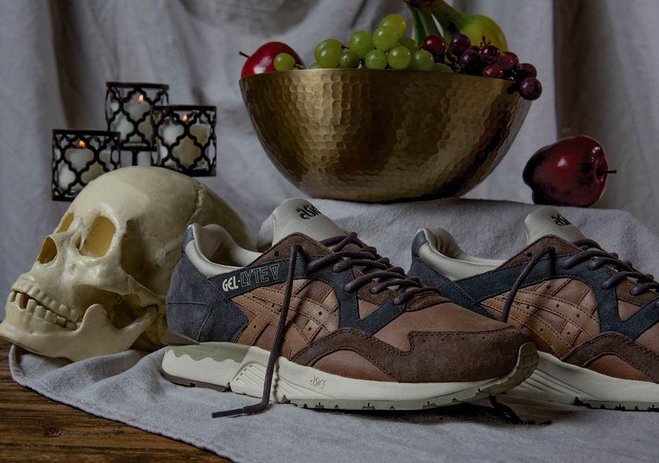 Commonwealth's Asics Collaboration Inspired By Da Vinci's