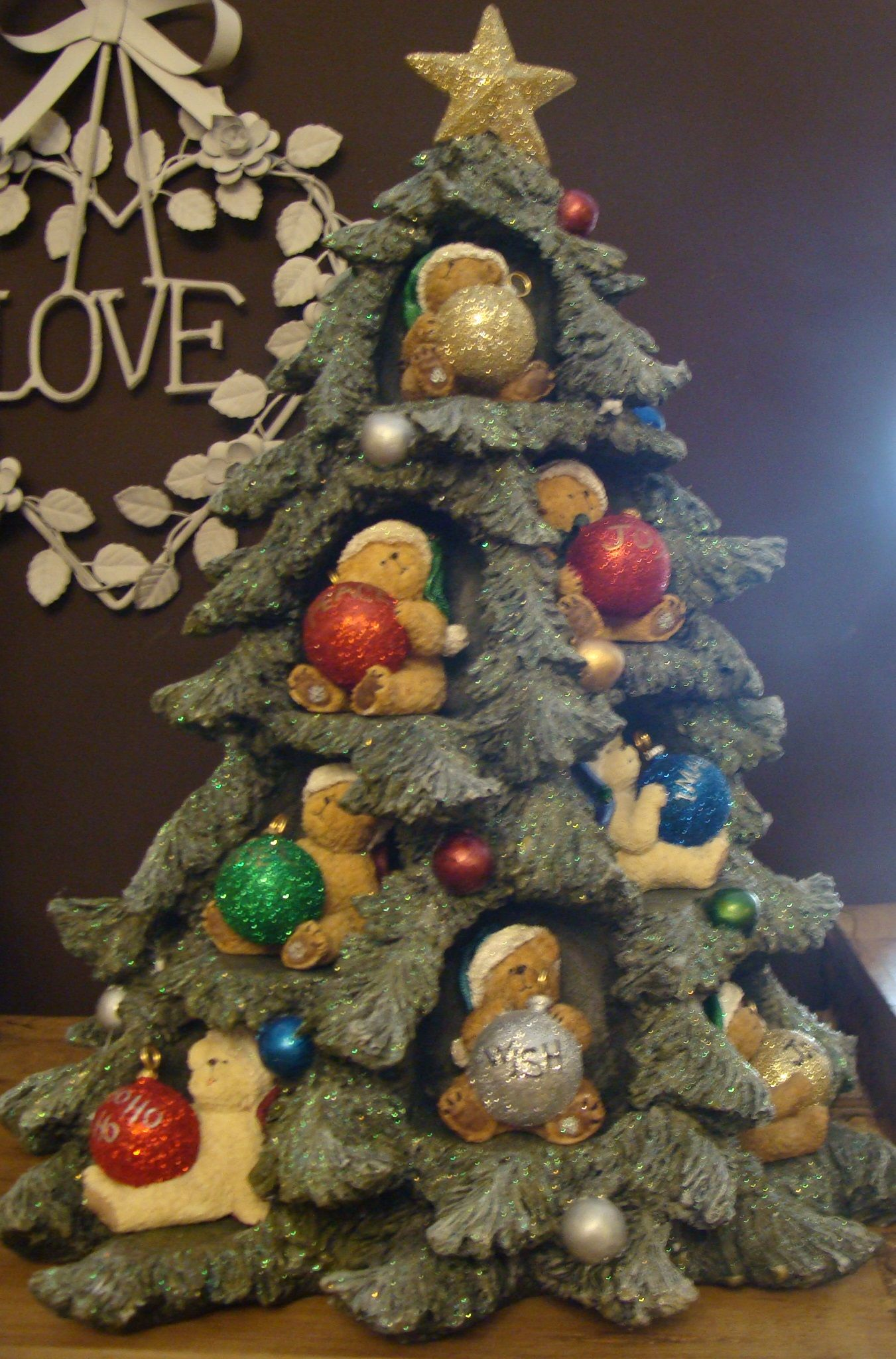 Boyds Bears Christmas Tree Available In Our Shop Sold Beer Decor Kerst Ideeen Kerstboom
