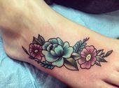 Photo of 33 Erstaunliche Fußtattoos, die nicht stinken – TattooBlend – Mein Blog Dezdemon nice …