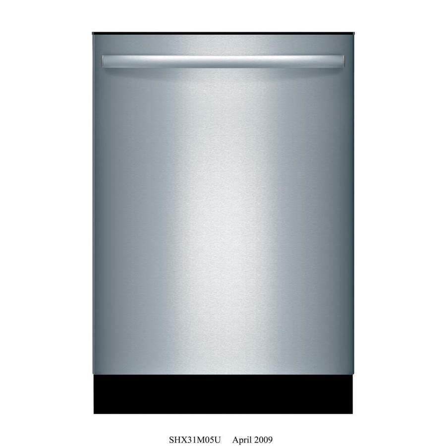 Bosch 800 42 Decibel Built In Dishwasher Stainless Stee Lowes Com Built In Dishwasher Stainless Steel Dishwasher Steel Tub