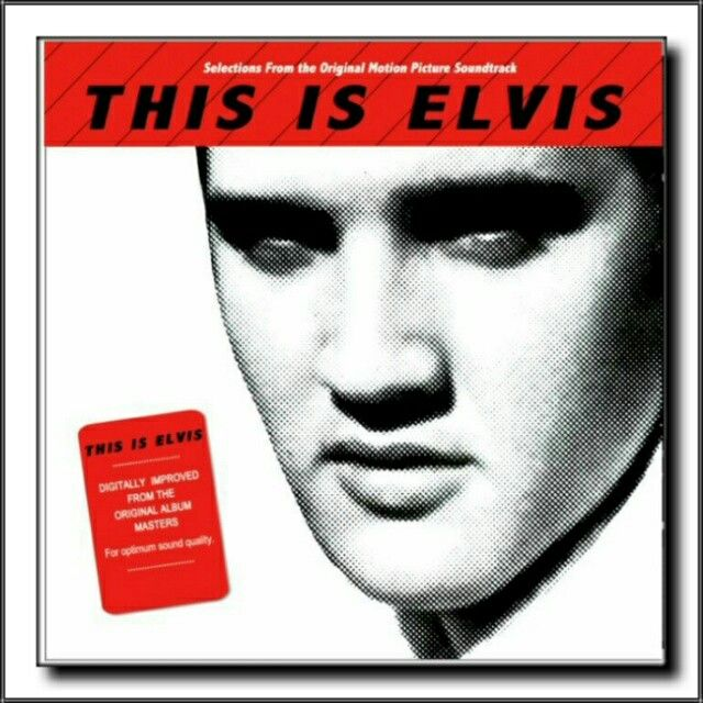 This Is Elvis Selections From The Original Motion Picture Soundtrack Lp 1981 Elvis Elvis Presley Album Covers