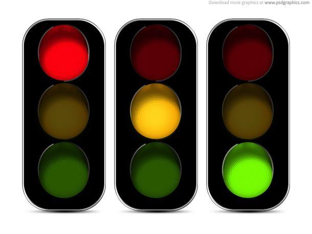 Maintenance Traffic Light Light Icon Green Traffic Light