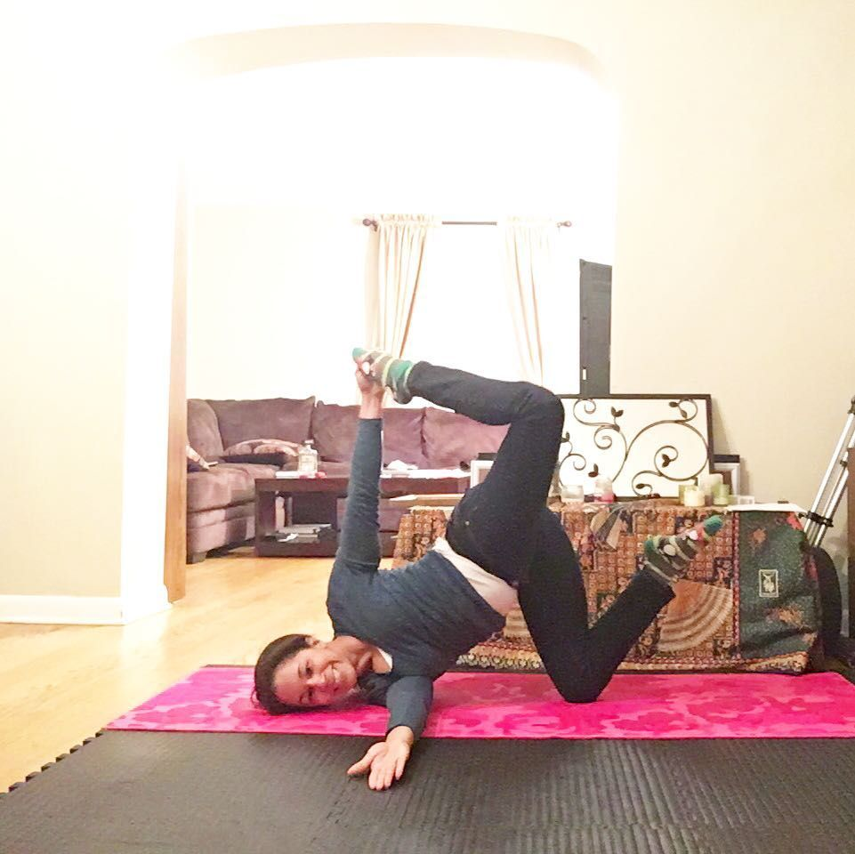 Reneecan On Instagram Crazysexyyoga Day 15 Half Bow In Equilibrium In One Legged Revolved Childspose Or A How To Do Yoga Instagram Posts Basic Yoga Poses