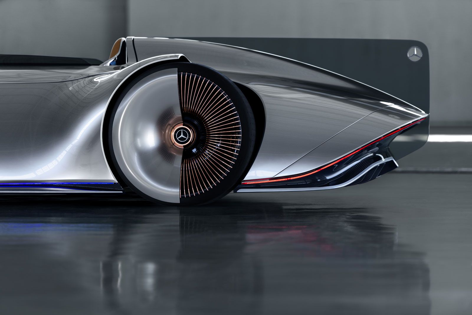 Mercedes Benz Vision Eq Silver Arrow Concept Electric Car Design Car Design Mercedes Benz