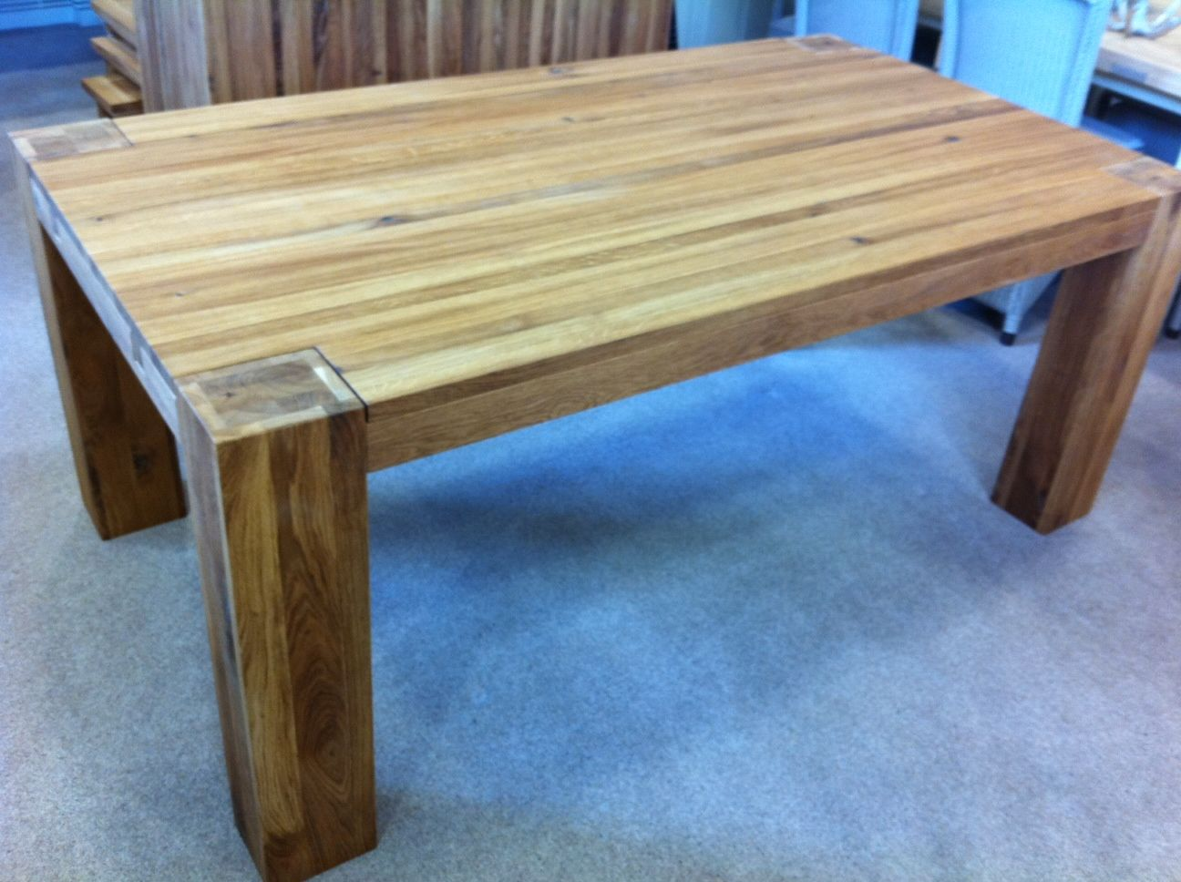 TABLE Clemence Richard Massive Extending Dining Table 5 Sizes