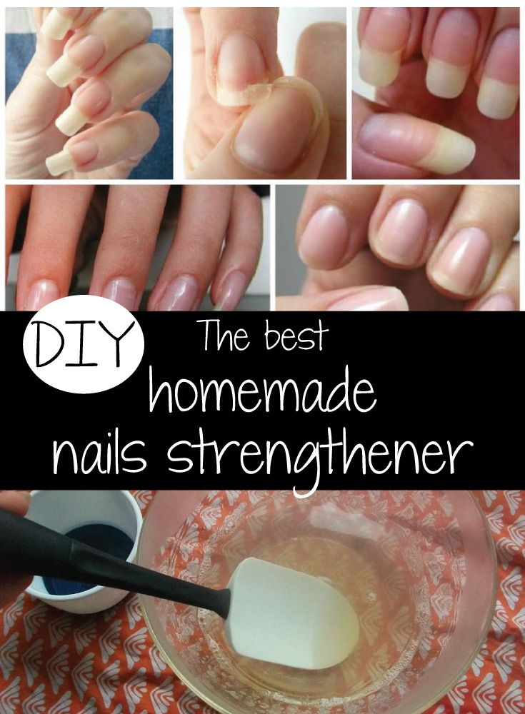 DIY The best homemade nails strengthener | nails | Pinterest ...