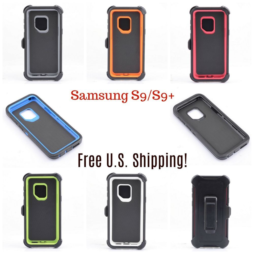 lowest price 91da0 4a642 Details about For Samsung Galaxy S9 / S9 Plus Case Universal Clip ...