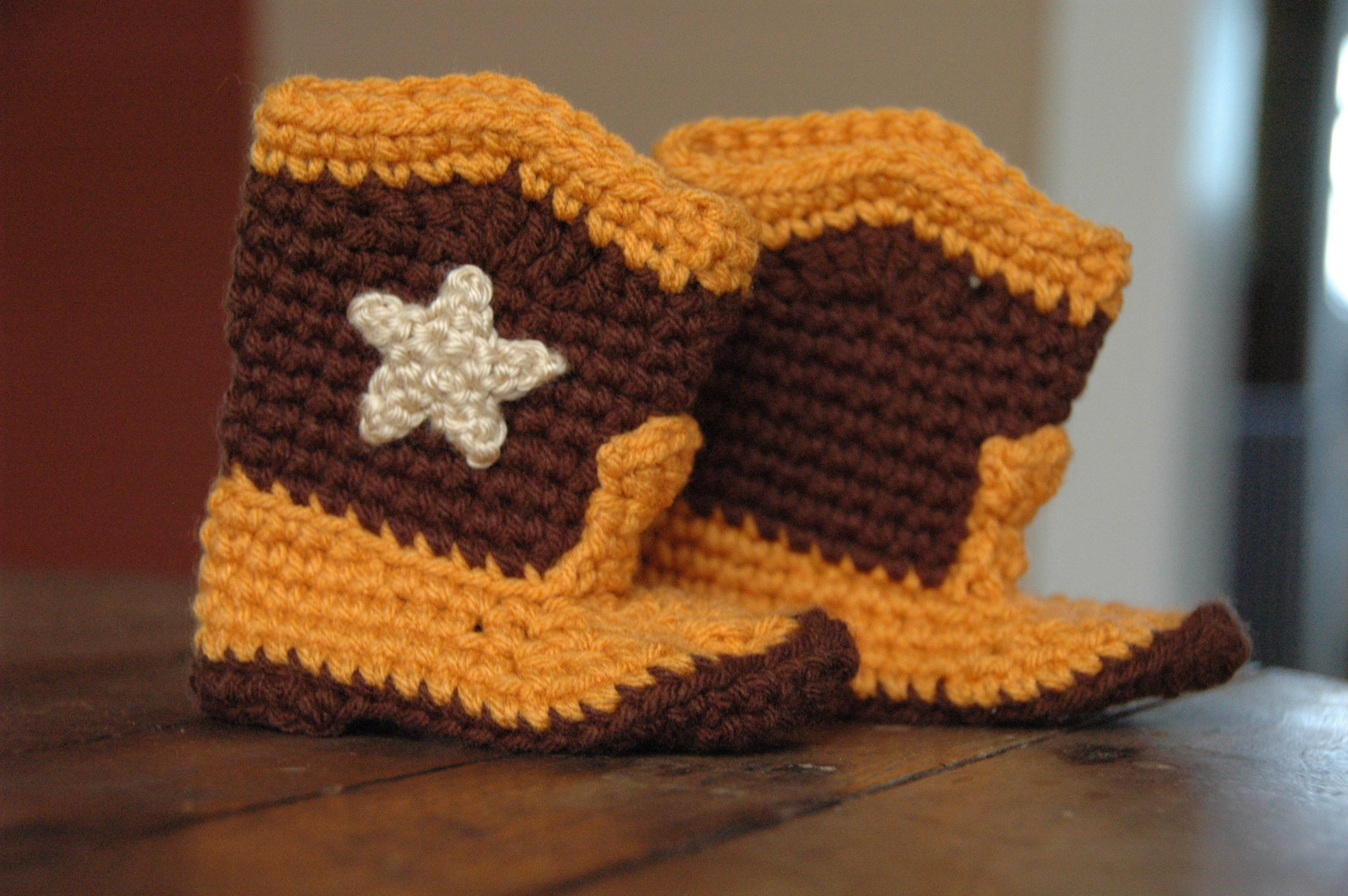 Cowboy booties | Crochet | Pinterest