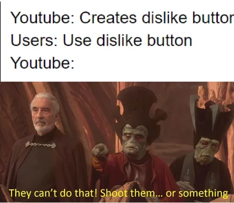 Youtube Dislike Button Best Meme S Everyone Is Going Crazy About This Youtube Dislike Button Here Are The Best Meme S A Really Funny Memes Memes Funny Memes