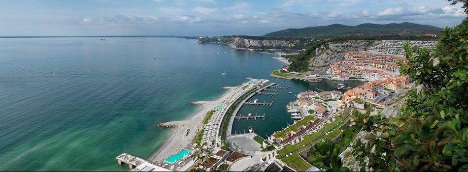 #Amazing #resort #Portopiccolo, #Italy with sea view of the #Adriatic.