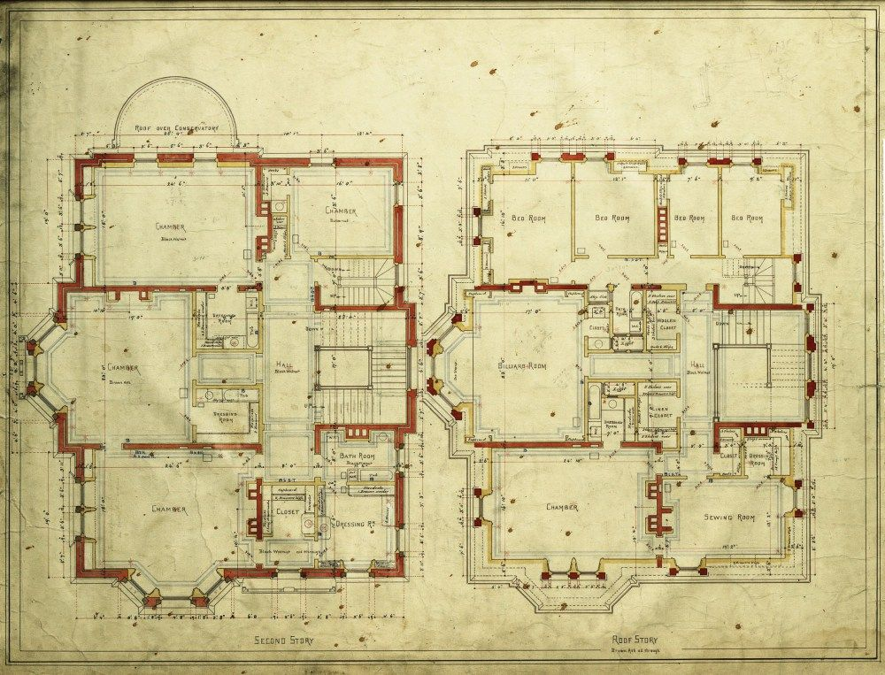Second And Third Floor Plans How To Plan Mansion Floor Plan Floor Plan Drawing