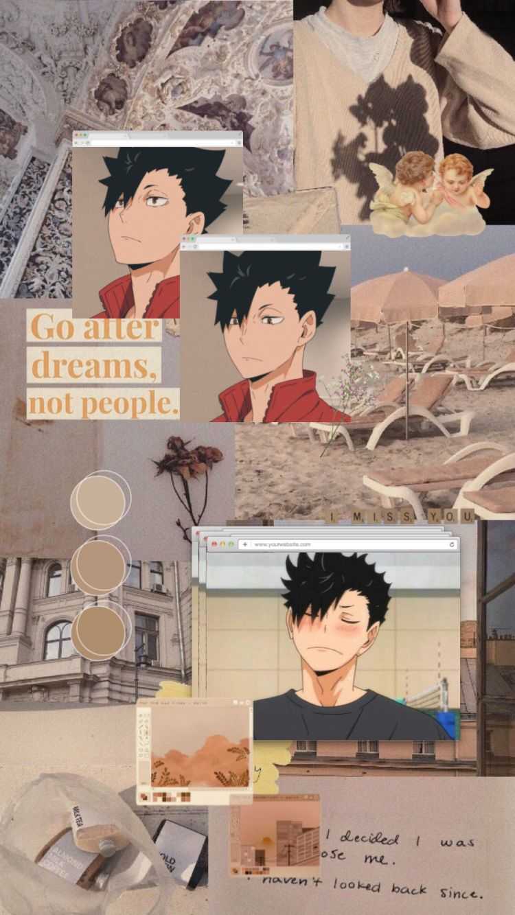 Kuroo Tetsurou Aesthetic Wallpaper Kuroo Haikyuu Cool Anime Wallpapers Anime Wallpaper Iphone