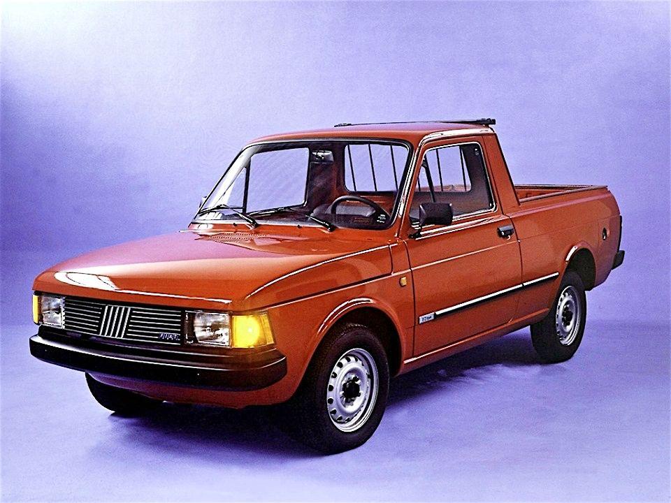 Fiat Pickup City Con El Adn Del 147 Ingreso A Chile El Ano 1986