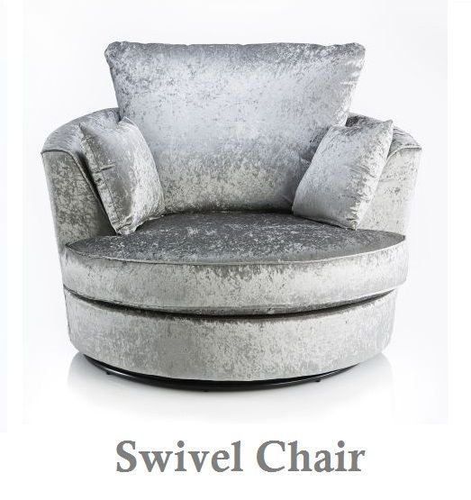 Remarkable Cuddle Swivel Chair Jumbo Cord Crushed Velvet Choice Of Customarchery Wood Chair Design Ideas Customarcherynet
