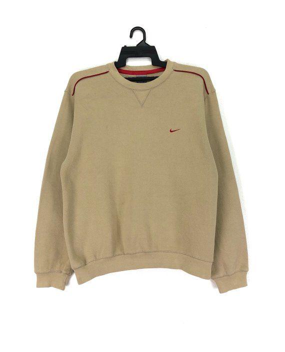 580a3ec96e433 Vintage Nike Sweatshirt Crewneck Jumpers Embroidered Small Logo ...
