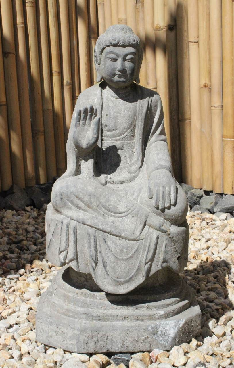 Garten Buddha Figur Mit Schutzgestus Buddha Figur Buddha Figur