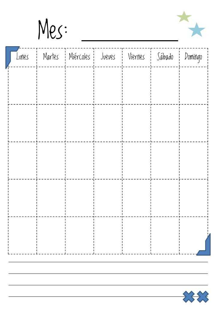 Calendario Escolar Valencia 2020 18.Heli Papeles Planificador Semanal Completo Para Imprimir