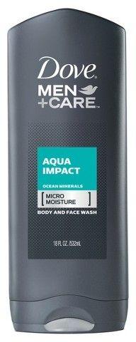 Dove Men Care Aqua Impact Body Wash 18 Oz Dove Men Care Dove Men Men Care