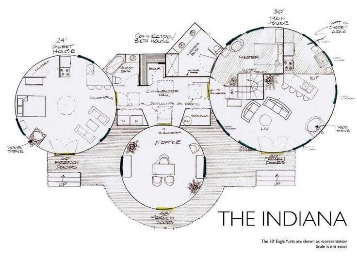 Yurt Floor Plans Yurt Floor Plan Indiana Floor Plan Fanatic