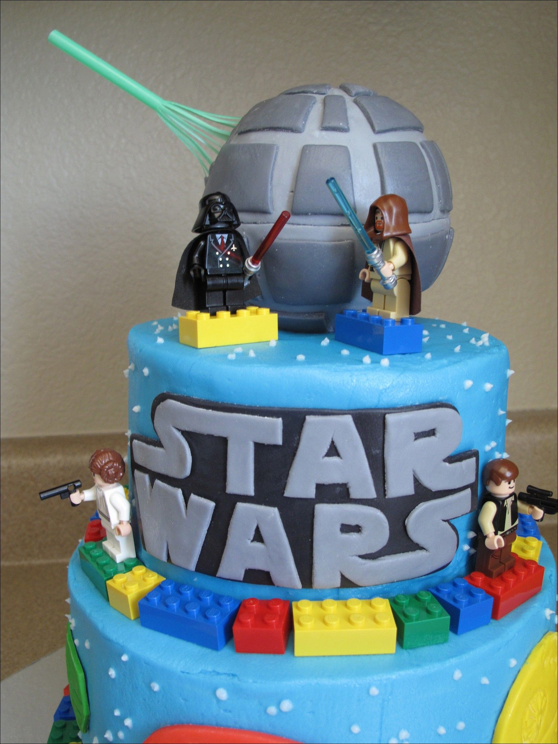 Image For Star Wars Lego Cake Pics