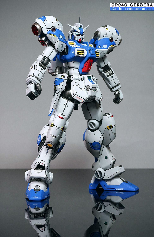 Gundam Guy Re 100 Gp04 Gerbera Customized Build Craft Metalbuild Laevatein Veriv 17778