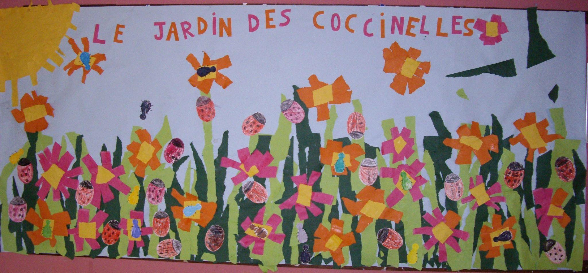 Coccinelle Arts Visuels En Maternelle Printemps Art