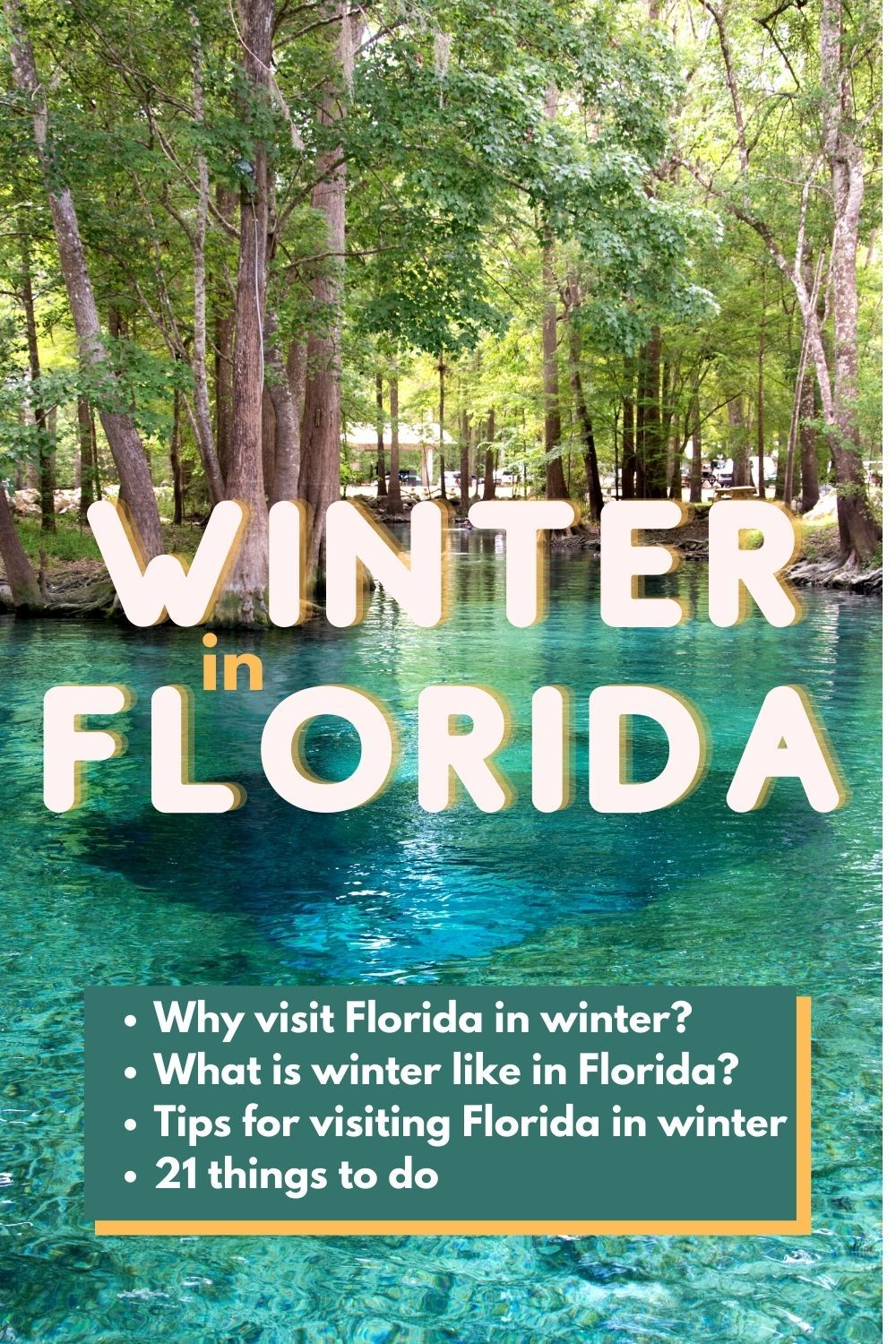 The Ultimate List Of Things To Do In Florida In The Winter Florida Vacation Spots Winter In Florida Beach Trip Packing