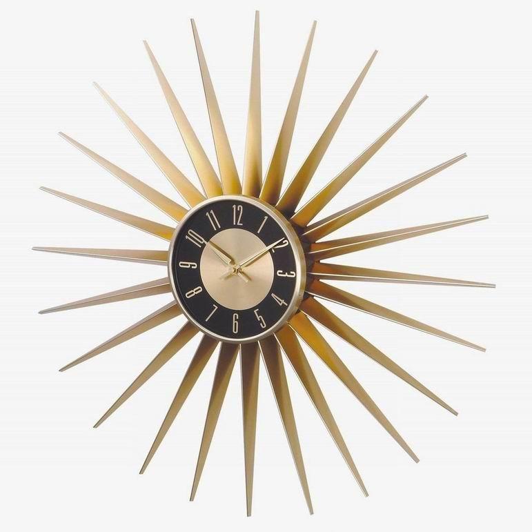 Retro Starburst Clock Remember When Pinterest