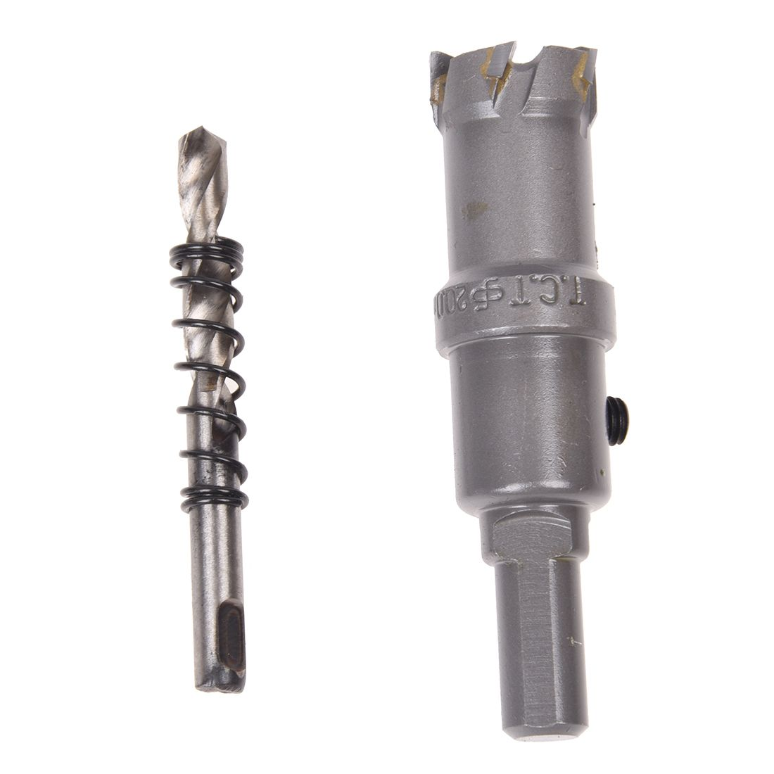 Shank 6mm Twist Drill Bit 20mm Stainless Steel Hole Saw #Affiliate