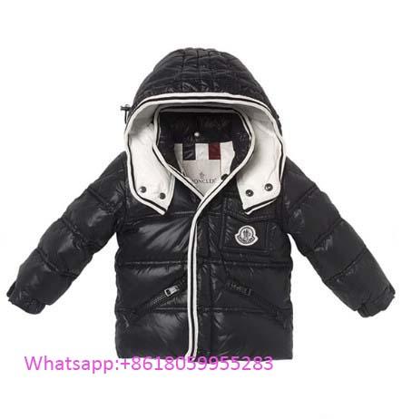 3b4ad8ce6 Acheter Moncler Enfants Bleu Zin Baby Collar Down Veste   Fashion ...