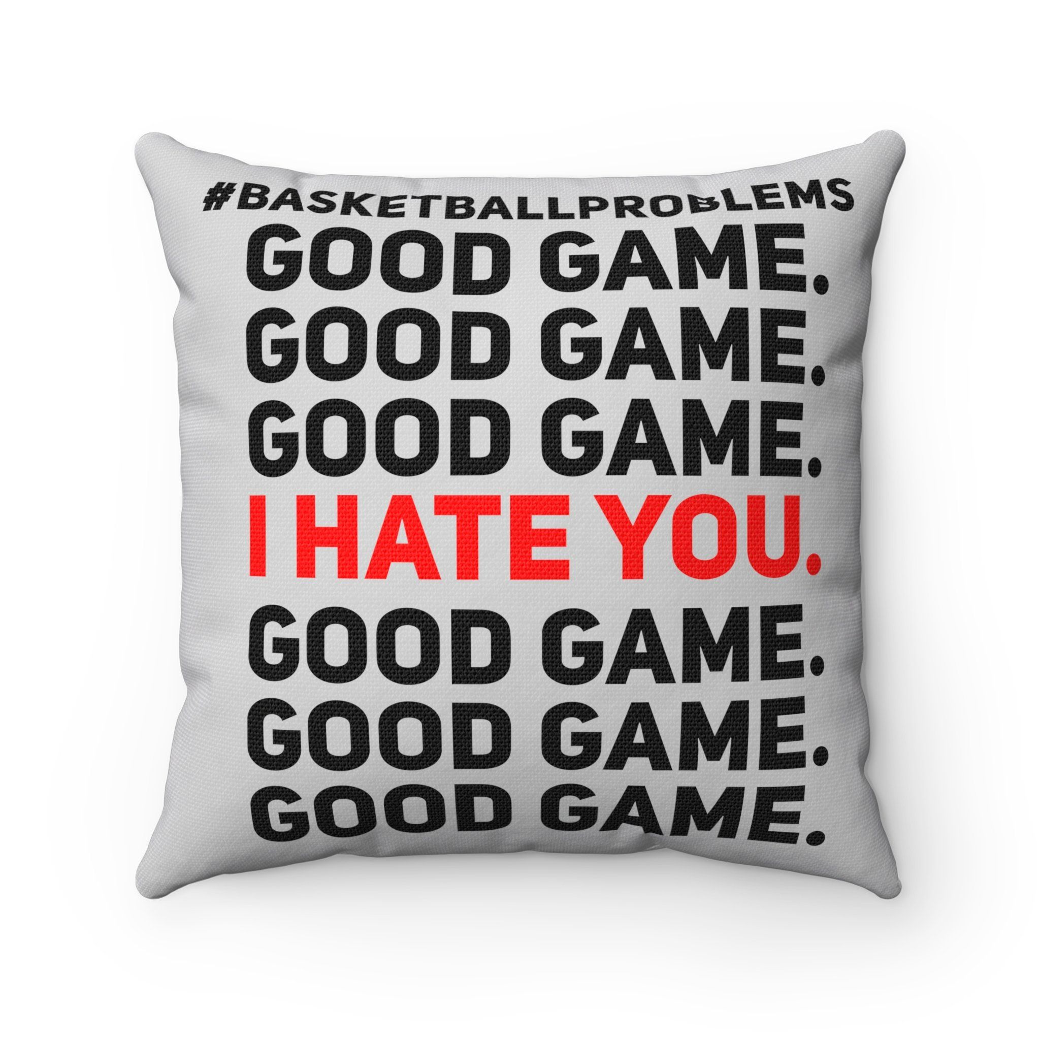 Basketball square pillow pillows and products