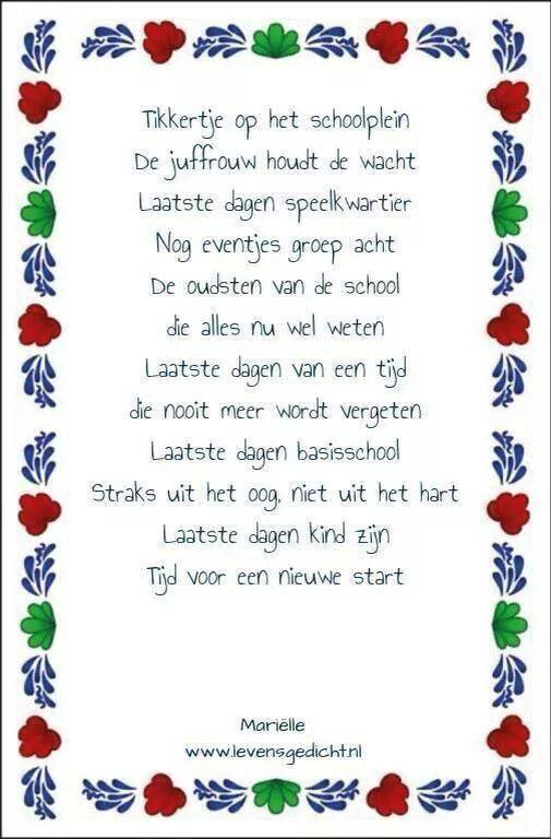 Verwonderend Gedicht groep 8 (met afbeeldingen) | Onderwijs citaten, Teksten PC-52
