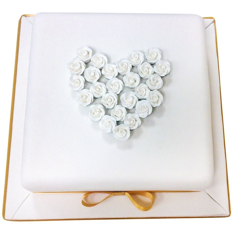 Golden Wedding Anniversary Cake | Wedding anniversary cakes, Golden ...