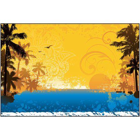 Hot Summer Art by Eazl, Orange