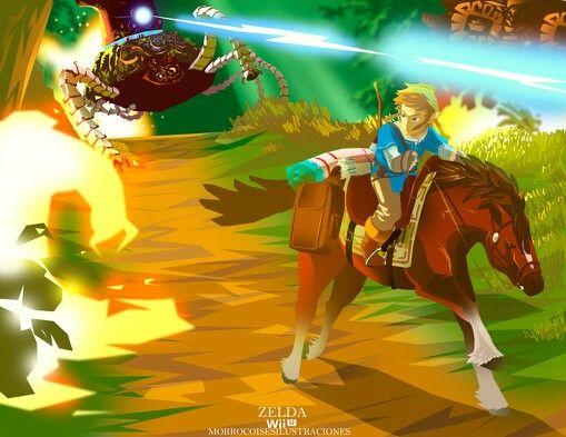 Zelda wii u link