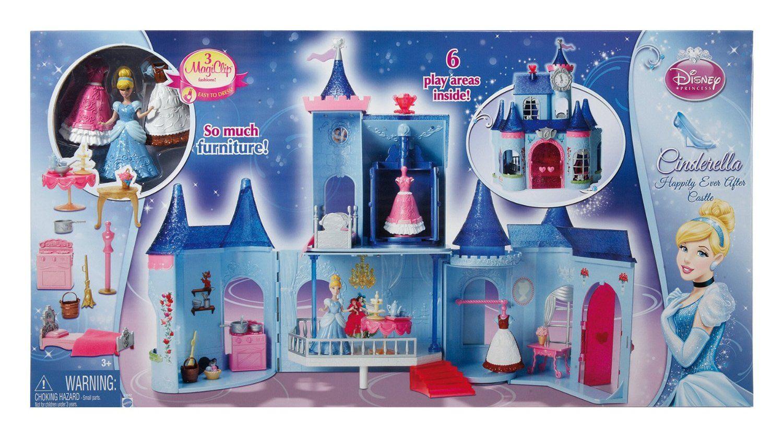 Cinderella Magic Clip Castle Doll House Disney Princess