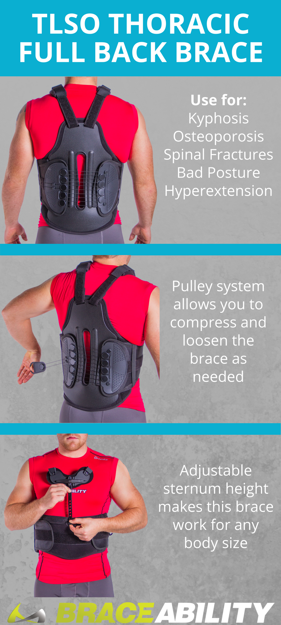 90fe677b16 Are you recovering from a back injury or surgery? This TLSO brace supports  your back