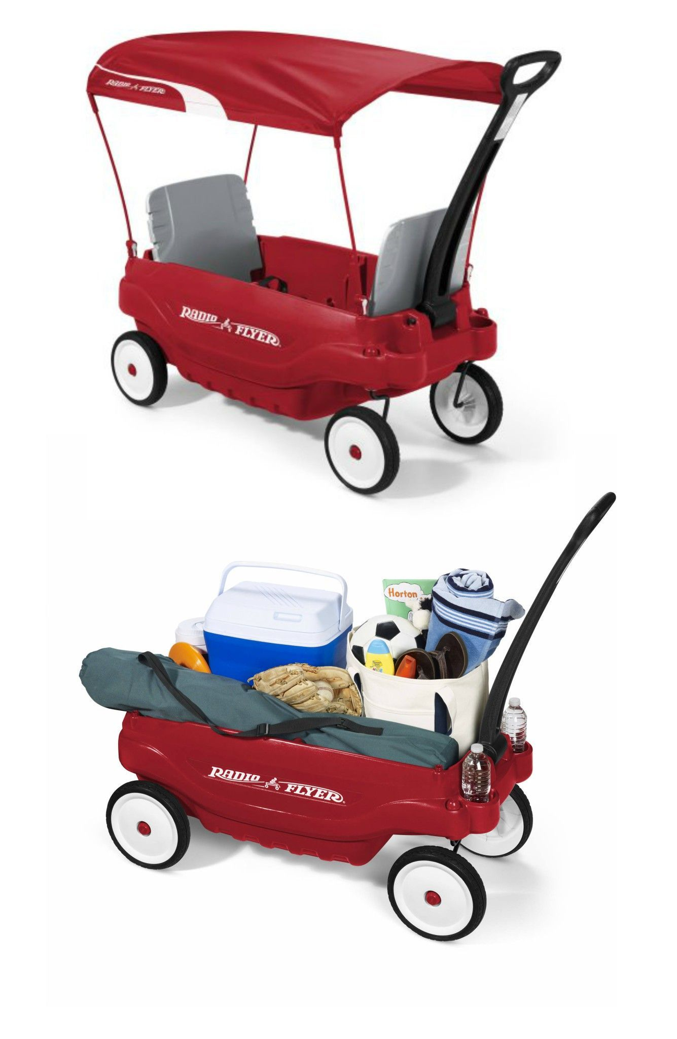 Radio Flyer Deluxe Family Canopy Wagon ONLY 89.00 Shipped