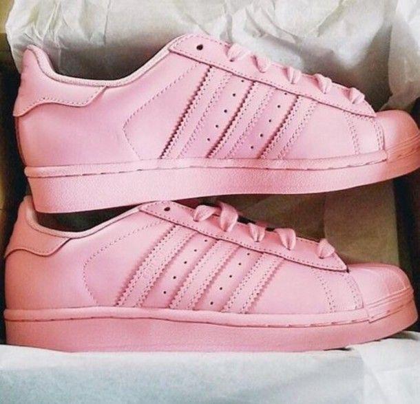 adidas+superstars+pastel+pink