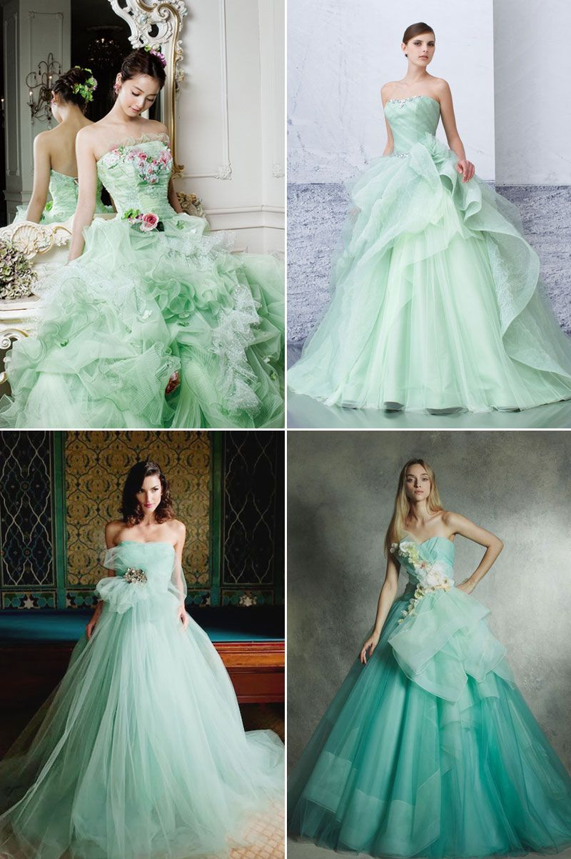 95ee5b15baa2 The Color of Nature - 20 Refreshingly Beautiful Green Gowns ...