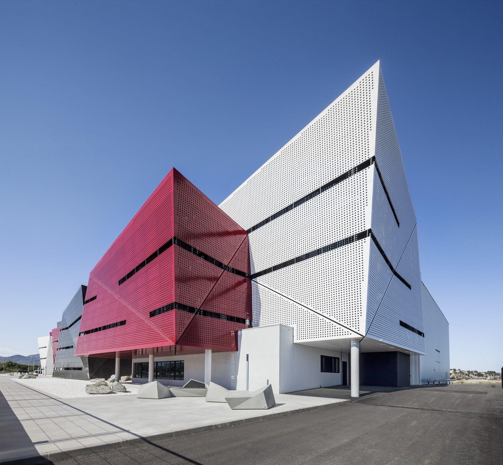 Cfpa Automotive Technology Center Caas Arquitectes Archello Amazing Architecture Landmark Buildings Building Design