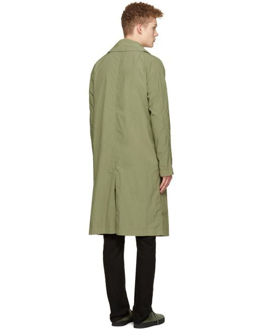 Saturdays NYC | Green Malmo Trench Coat for Men | Lyst