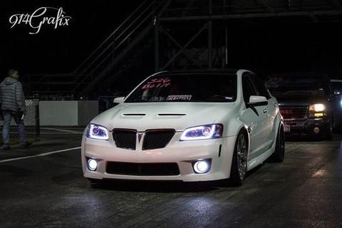 G8 Projector Headlights With Led Drl Pontiac G8 Projector