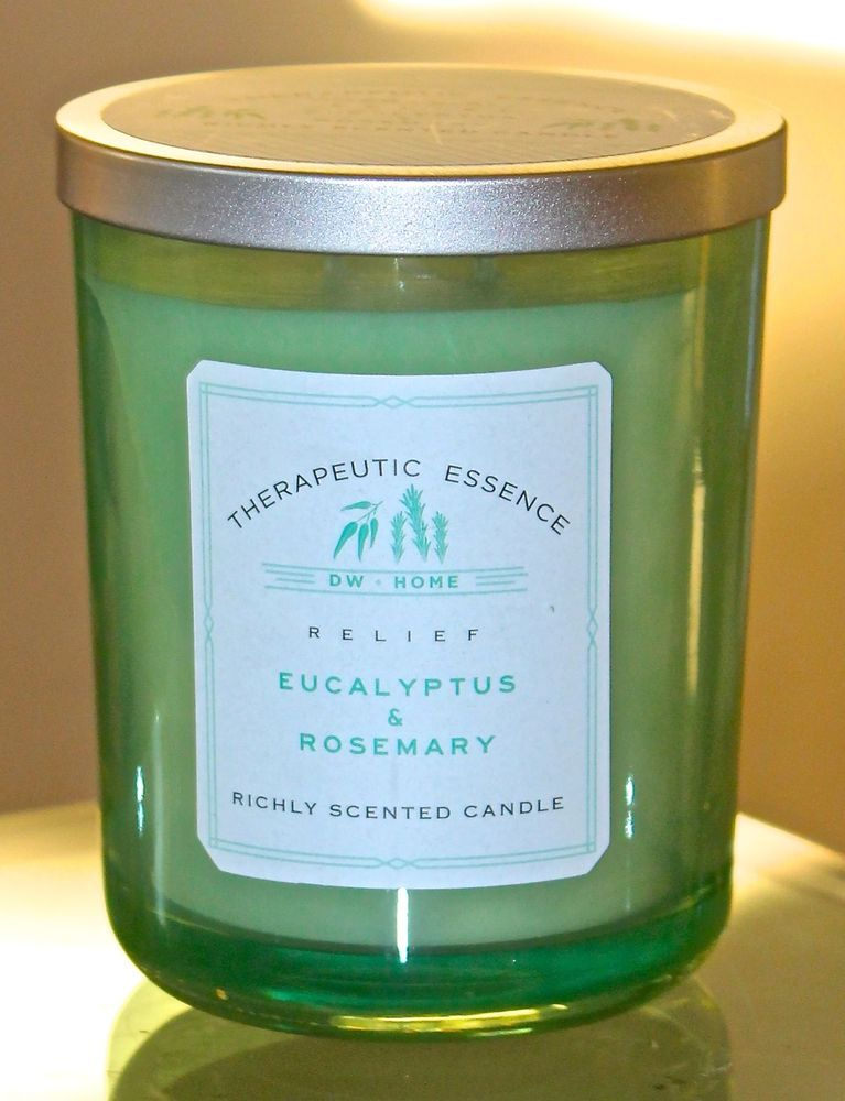 Dw Home Candle New Therapeutic Relief Eucalyptus Rosemary 15 4