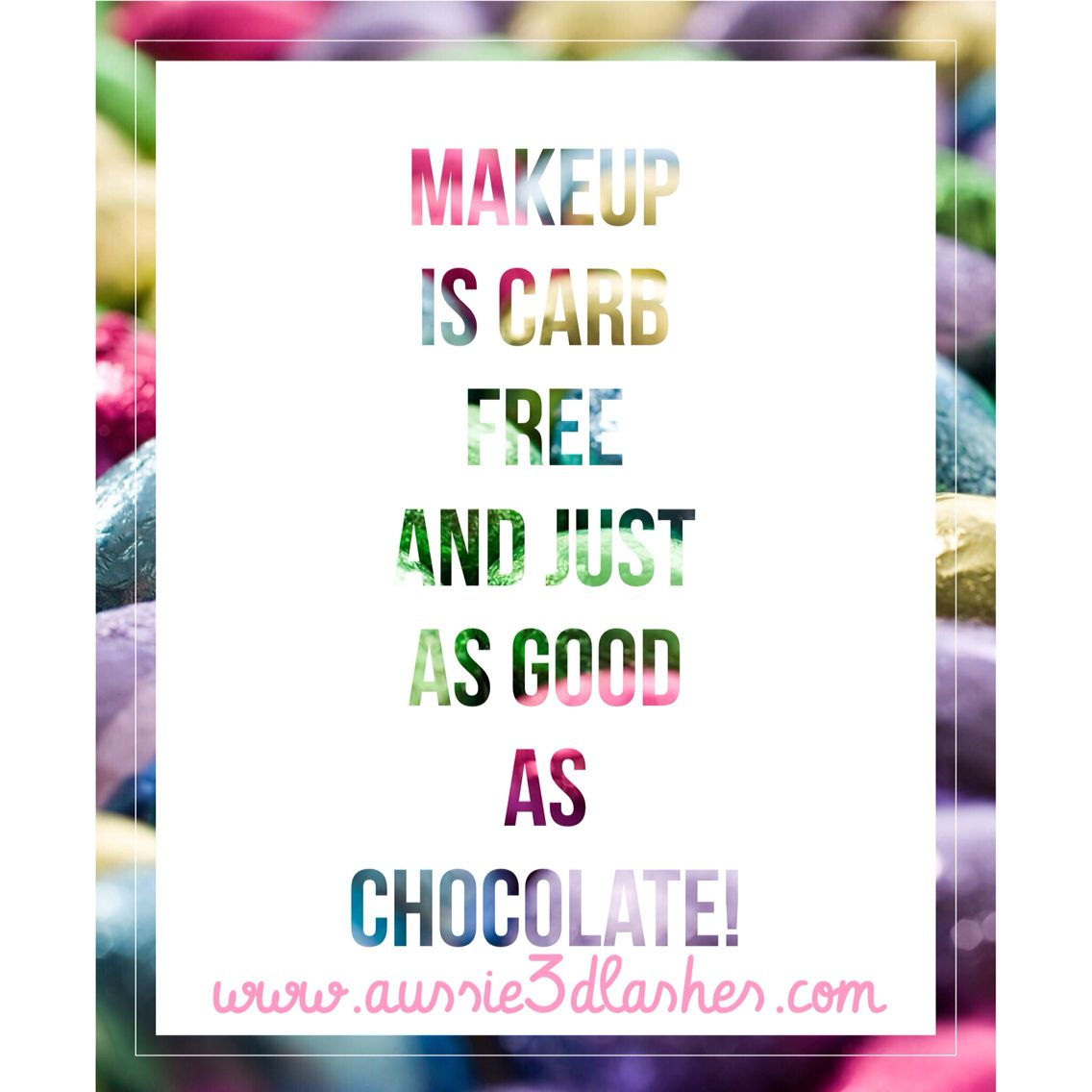 If you need a carb free easter gift thats just as good as if you need a carb free easter gift thats just as good as chocolate let me know share this post if you want makeup instead of easter eggs negle Image collections