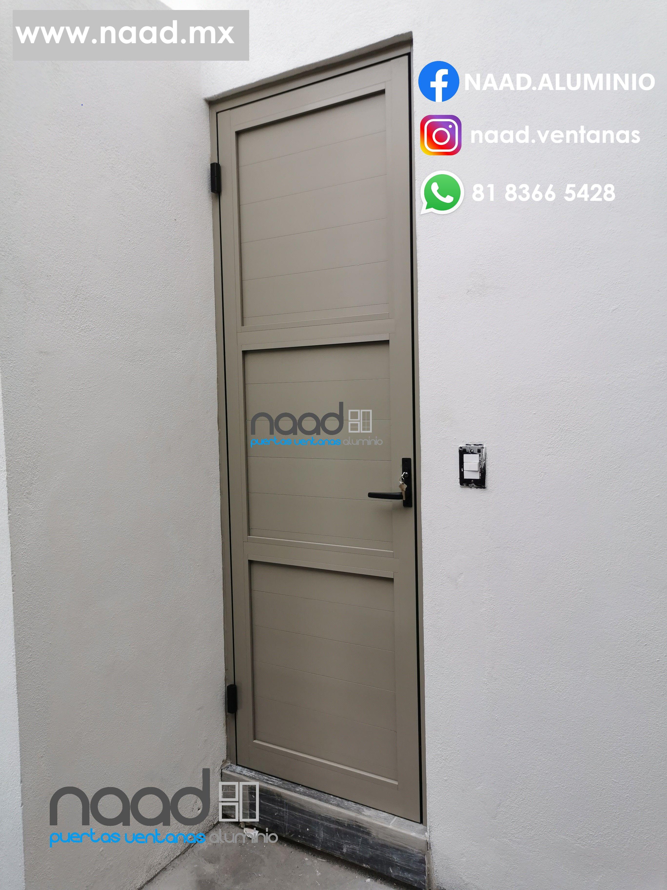 Pin En Puertas De Aluminio