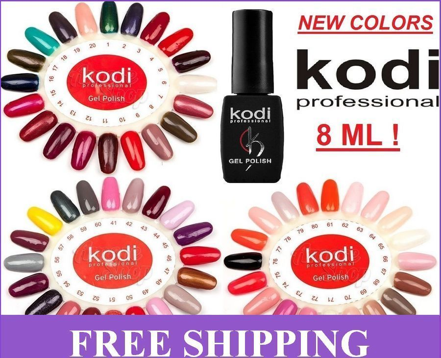 100% ORIGINAL! Kodi - Gel LED/UV Nail Polish Professional Color NEW ...