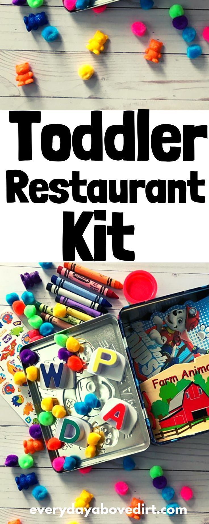Toddler Restaurant Kit #toddlers
