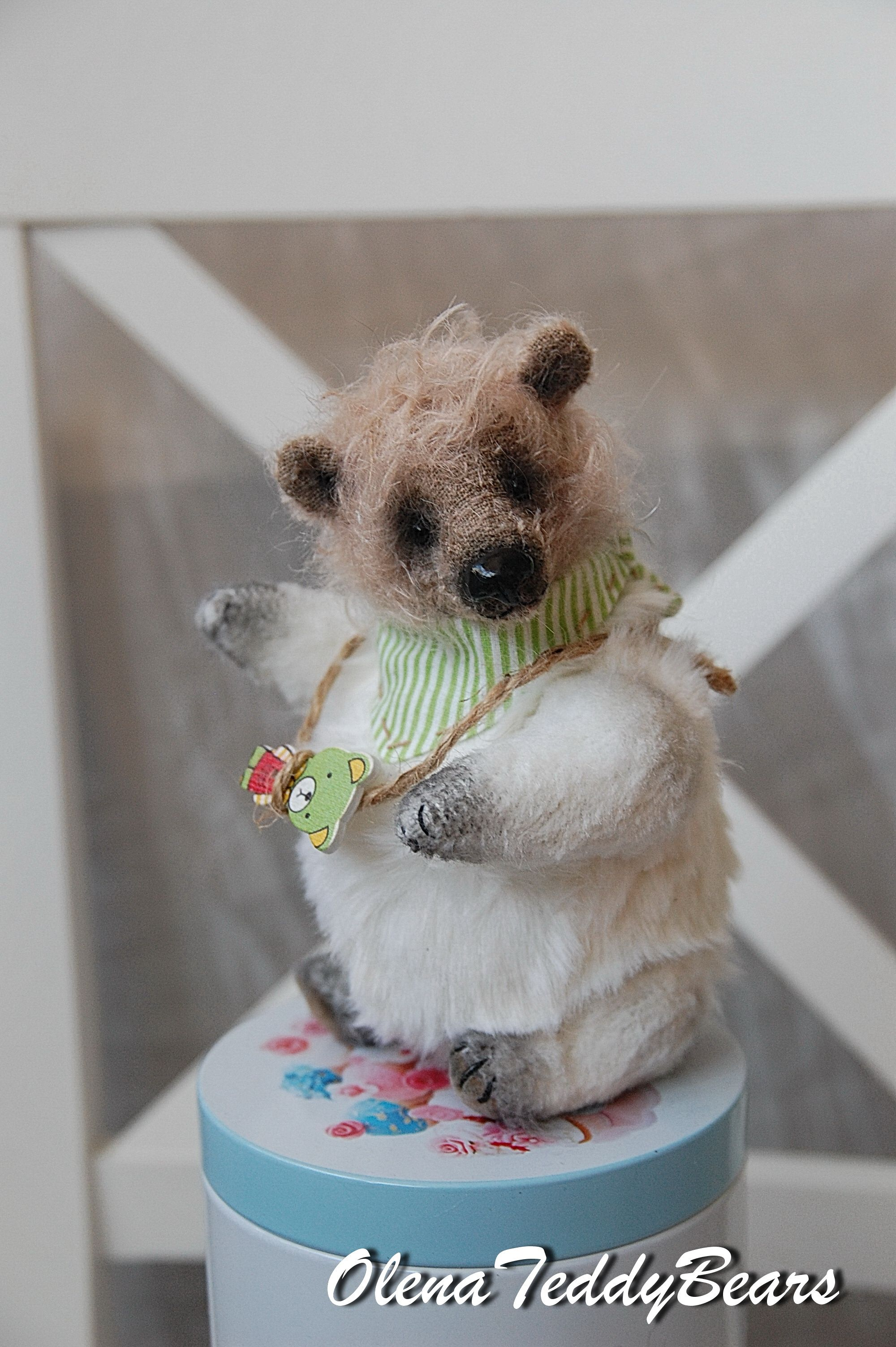 Teddy Bear Gift Ooak Teddy Bear Interior Toy Collectible Etsy Teddy Bear Gifts Bear Stuffed Animal Handmade Stuffed Animals [ 3008 x 2000 Pixel ]