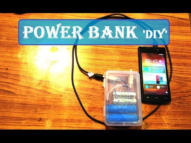 Simplest mobile power bank ever do it yourself diy no simplest mobile power bank ever do it yourself diy no electronic solutioingenieria Gallery